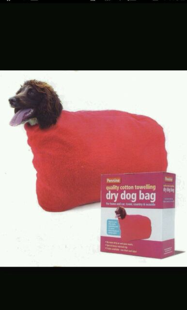 "Dry Dog Bag Size 5 - 22"" Neck  Rain Snow Wet Walk"
