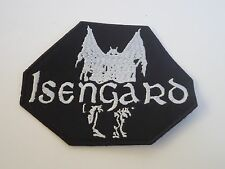 ISENGARD EMBROIDERED LOGO BLACK METAL PATCH