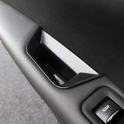Interior Front Door Handle Plastic Box 2PCS Black for Cadillac XT5 2016-2018