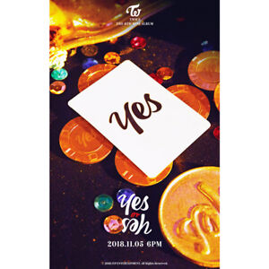 TWICE-Yes-or-Yes-6th-Mini-Album-CD-Booklet-Photocard-Etc-Tracking-Number-KPOP