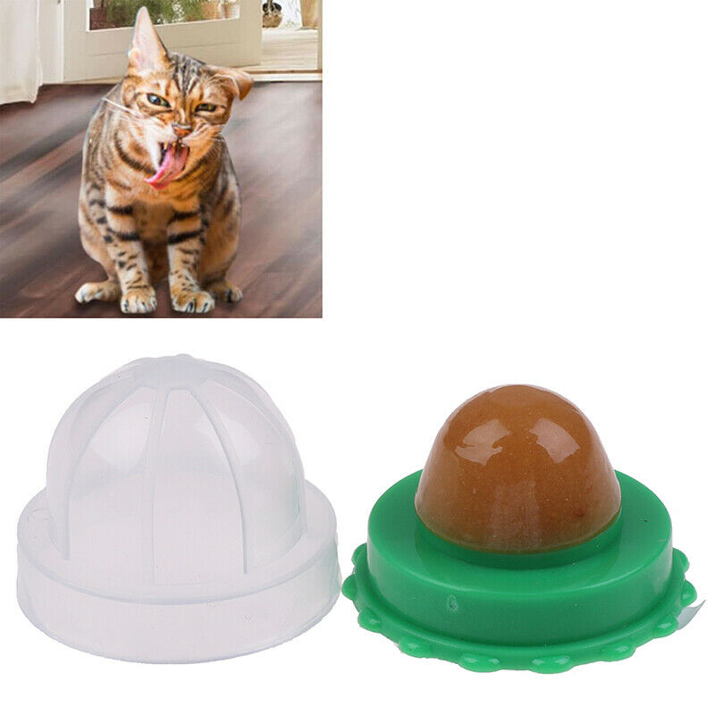 Healthy Cat Catnip Sugar Cats Snacks Licking Candy Nutrition Energy Ball ToysSN