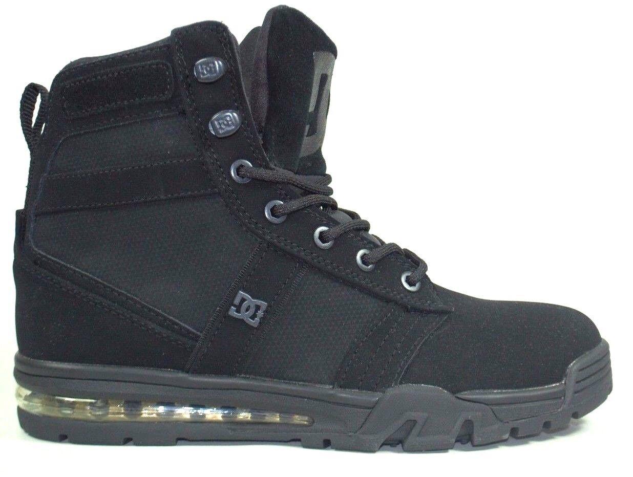 DC Boots Lieutenant WR Black Stiefel