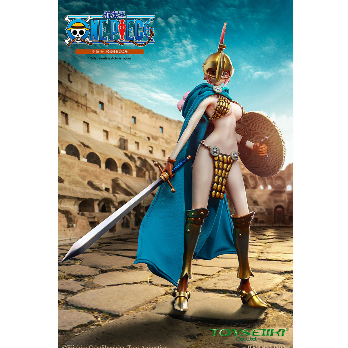 TOYSEIIKI 1 6 Scale ONE PIECE Gladiator Rebecca Action Figure