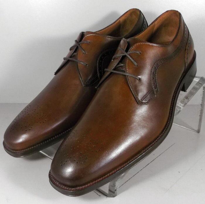 151760 ES50 para hombres zapatos M De Cuero Marrón Encaje Ups Johnston & Murphy