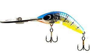 FISHING-LURE-PREDATEK-BOOMERANG-BARRA-BLUE-65-UD-12g-CAST-OR-TROLL-DEEP-DIVER