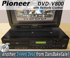 Pioneer DVD-V8000 DVD Disc Player Industrial Standard NTSC & PAL w/ Remote NICE!