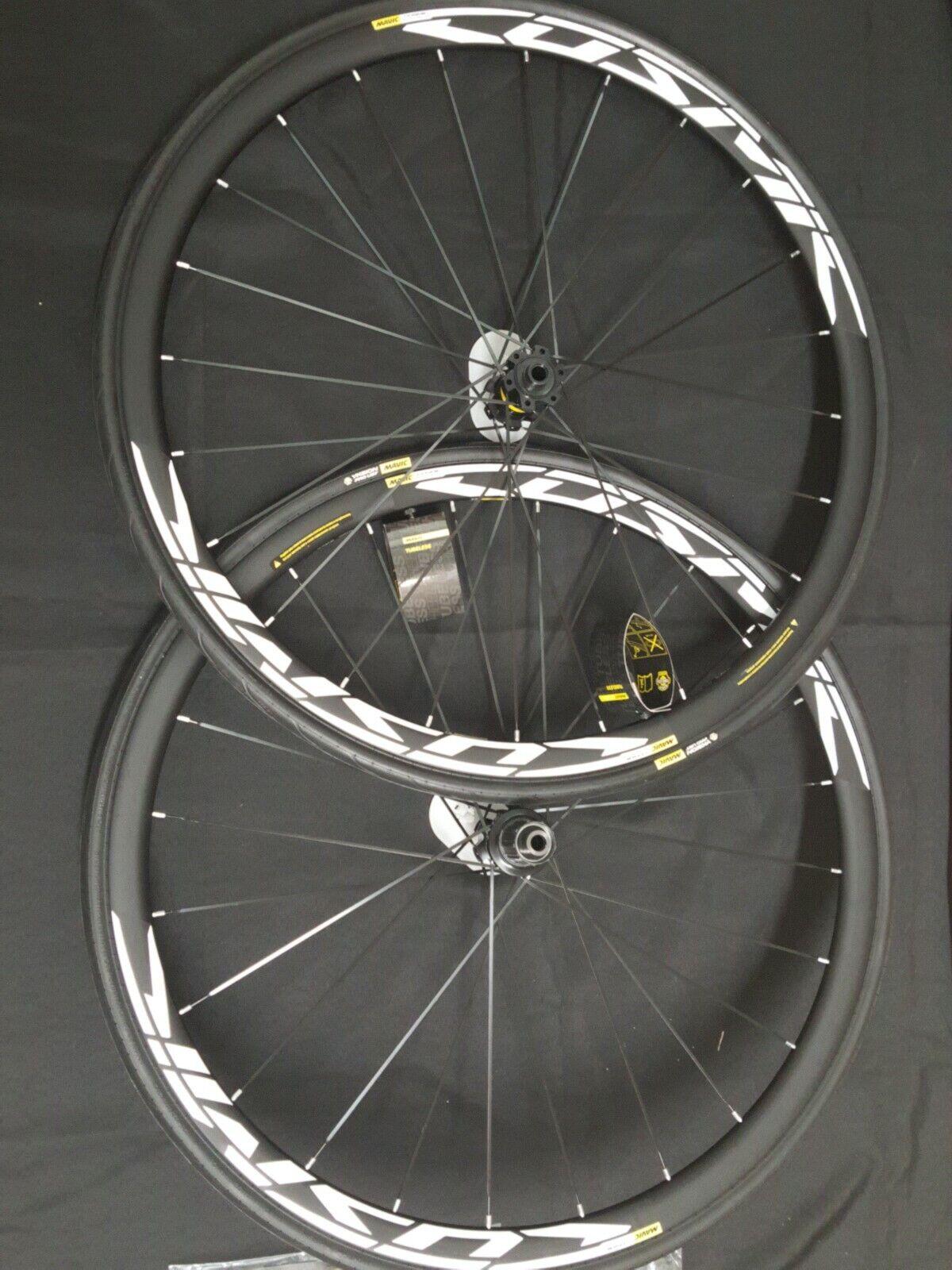 Mavis kosmisk elit UST DCL -cykelcykelhjulpar 70C nya