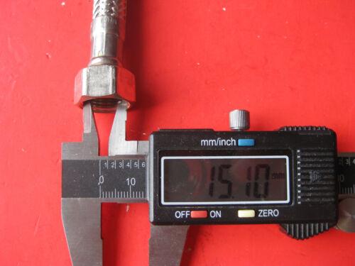 """1 Flexschlauch Flexibler Verbindungsschlauch 3//8/"""" x 3//8 1500 mm Schlauch Sanitär"""