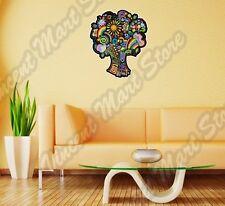 "Tree Ideas Abstract Ornament Colorful  Wall Sticker Room Interior Decor 20""X25"""