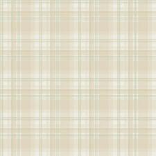 G12271 - Kitchen Recipes Checked Beige Green Galerie Wallpaper