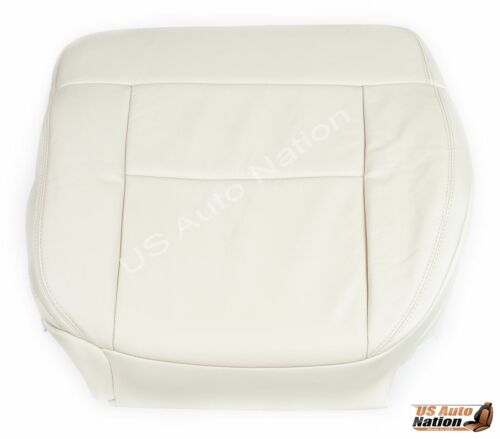 2004 Ford F150 Driver Bottom Replacement Leather Seat Cover Light Parchment Tan