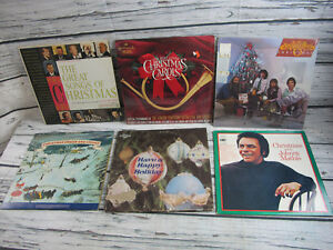 Lot-of-6-Christmas-Vinyl-Albums-LP-VG-Holiday-7