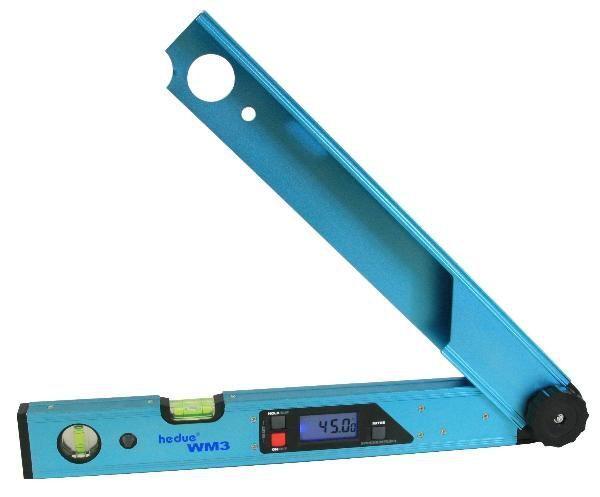 HEDÜ digitaler Winkelmesser WM 3 Typ D107 49cm lang von 0° bis 225° Messbereich