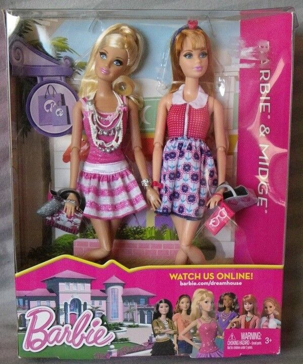 Barbie & MIDGE Life in in in the Dreamhouse 2012 Mattel Y7448 poupee neuve boite rare dddbce