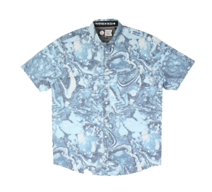 Salty Crew Twin Keel Shirt (L) bluee