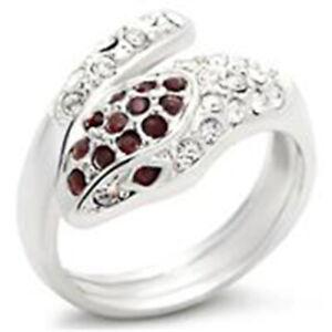 Bague luxe argent rhodié femme mode chic serti zirconium diamant solitaire