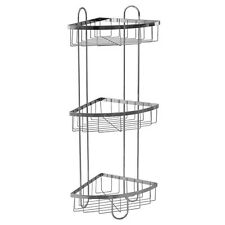Attirant Item 2 Style Selections 25.51 In H Steel Chrome Floor Freestanding Shower  Caddy Durable  Style Selections 25.51 In H Steel Chrome Floor Freestanding  Shower ...
