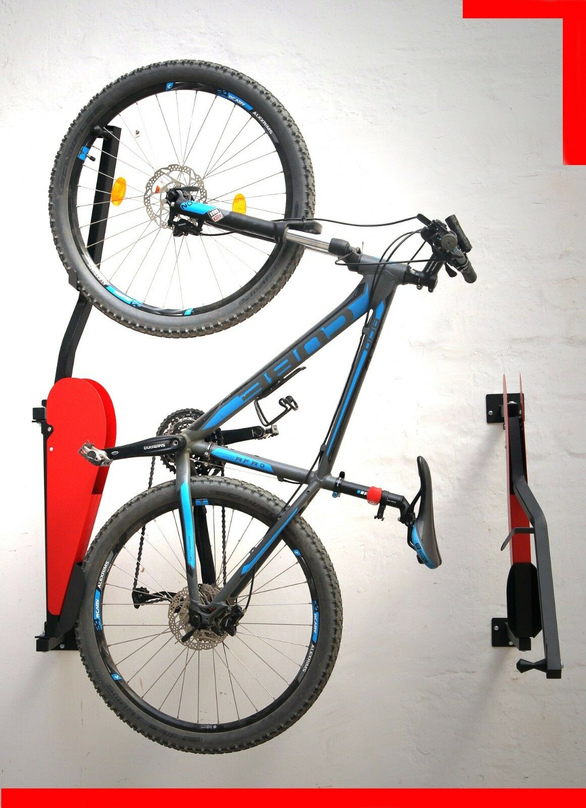 Electric Bicycle Wall Lift Pro -  Automatic Lifting and Hanging Wall Mount