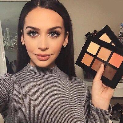 Face Cream Contour Kit Concealer Palette Bronzer Highlighter Makeup 6 Colour Set