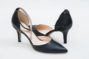 Damen High Gr Zu Pumps Details Schwarze Sandaletten Heels Spitze 40 Riemchen Neu rxBdCoe