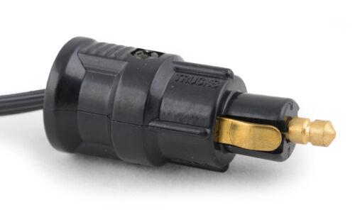 12 Volt Adapter Zigarettenanzünder Normstecker Stecker Buchse Auto LKW Boot NEU