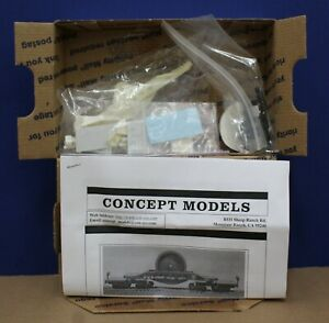 Concept-Models-HO-PRR-470249-Well-Flatcar-Kit-Resin-NIB