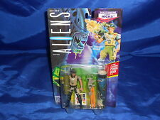 Aliens Space Marine Corp. Hicks W/ Rolled Comic Book Still Sealed Kenner 1992