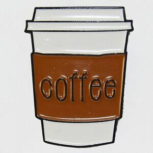 Coffee-Cup-Enamel-Pin-Badge-Brooch-Retro-Retro-Cafe-Tea-Food-Aussie-Seller