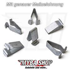 5x Metall Befestigung Clips Innenverkleidung für VW Skoda Seat Audi 4A0867276