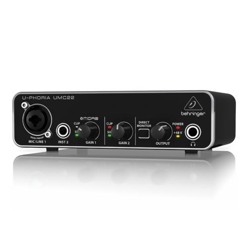 Pointez sur l'image pour zoomer Behringer-UMC22-U-PHORIA-Interface-Audio miniature 1  Behringer-UMC22-U-PHORIA-Interface-Audio miniature 2  Behringer-UMC22-U-PHORIA-Interface-Audio miniature 3 Vous en avez un à vendre ? Vendez le vôtre Behringer UMC22 U PHORIA Interface Audio