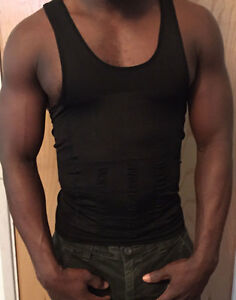 Men's Body Shaping Tank Top-black (xxl)