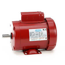 34 Hp 1725 Rpm 56 Frame 115230v Leeson Electric Motor Newfree Shipping