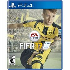 FIFA 17 Soccer for Playstation 4 or PS4 Pro Console New Region Free Ships Fast !