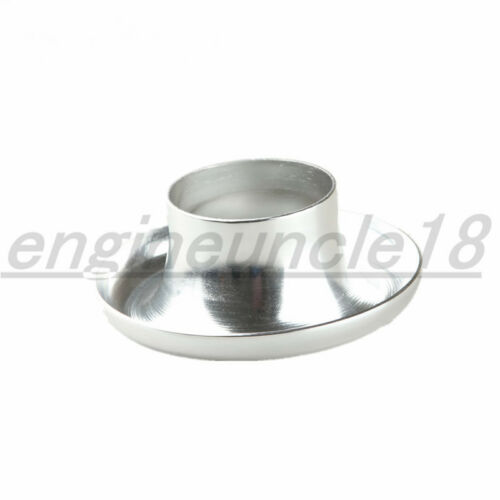 """Universal Velocity Stack 3/"""" Ram Air Intake //Turbo Composite Silver Funnel"""