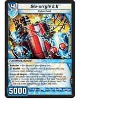 Kaijudo X3 GLU-URRGLE 2.0 Rare #21/110 7CLA (Playset) Clash of the Duel Masters