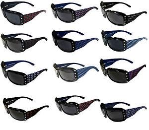9950e950f0ea Image is loading women-039-s-designer-sunglasses-bling-crystal-MLB-