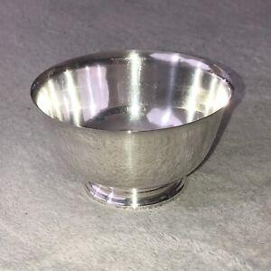 Vintage Oneida Paul Revere Bowl Reproduktion versilberte Fuss
