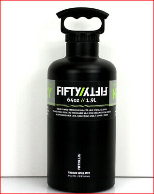 Fifty/Fifty 64 oz DOUBLE Wall Vacuum Insulated GROWLER Water