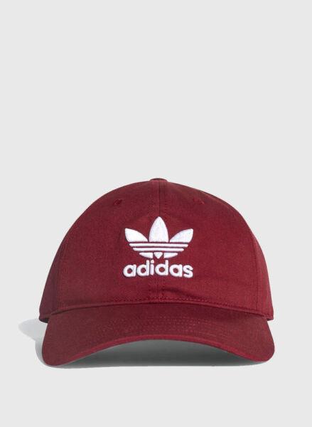 Adidas Trefoil Capello Unisex – adulto Rosso (buruni bianco) OSFM (r1z)  6d675ea3dfd6