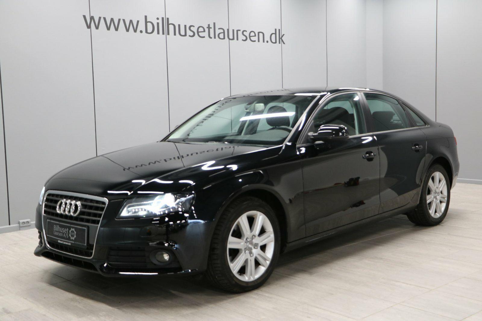 Audi A4 1,8 TFSi 160 4d - 154.900 kr.