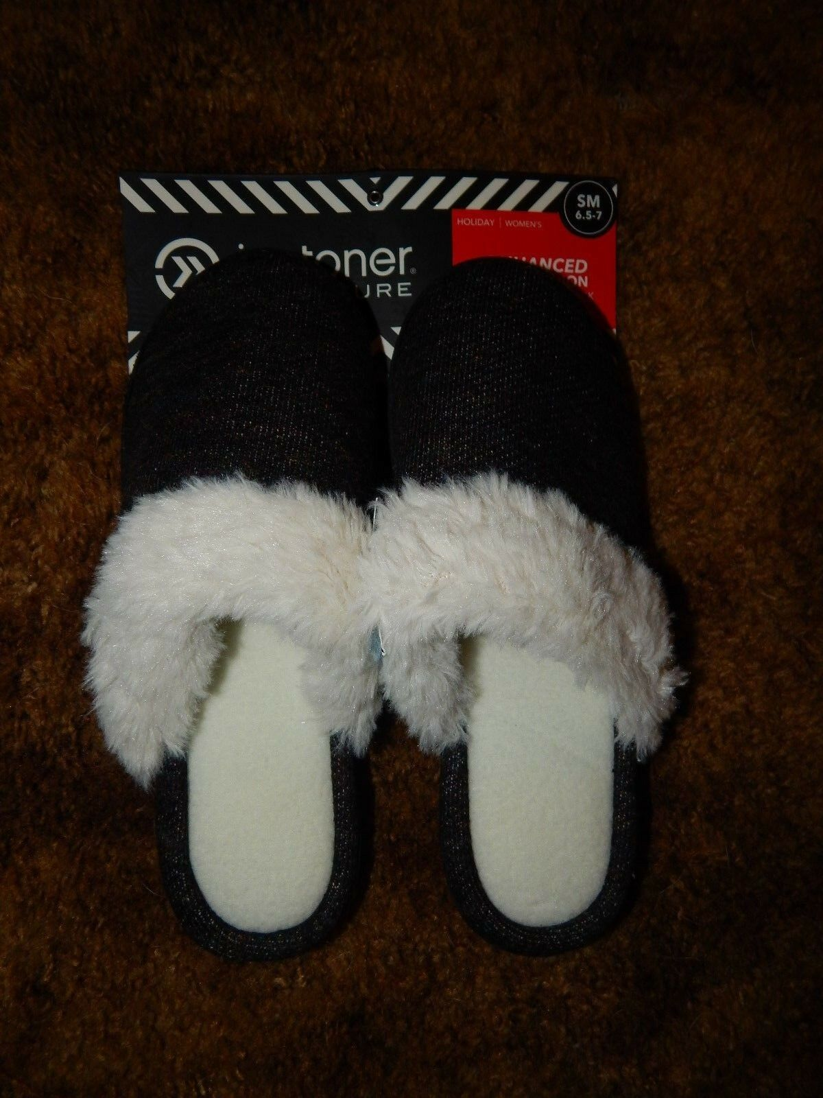 Men's/Women's S NEW Isotoner Slippers Size S Men's/Women's (6.5-7) Crazy price fashionable a wide variety of goods ebbdb9
