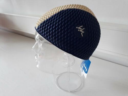 Schwimmhaube Herren luftgefüllt kurze Form Universalgröße Modell 3260 blau//weiß