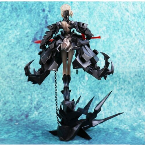 33 CM Fate Black Saber  PVC Figure Decoration Gift Model Doll  Japan Anime Toys