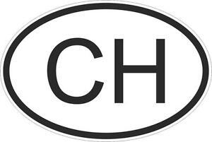 Autocollant-sticker-drapeau-oval-code-pays-voiture-moto-suisse-ch