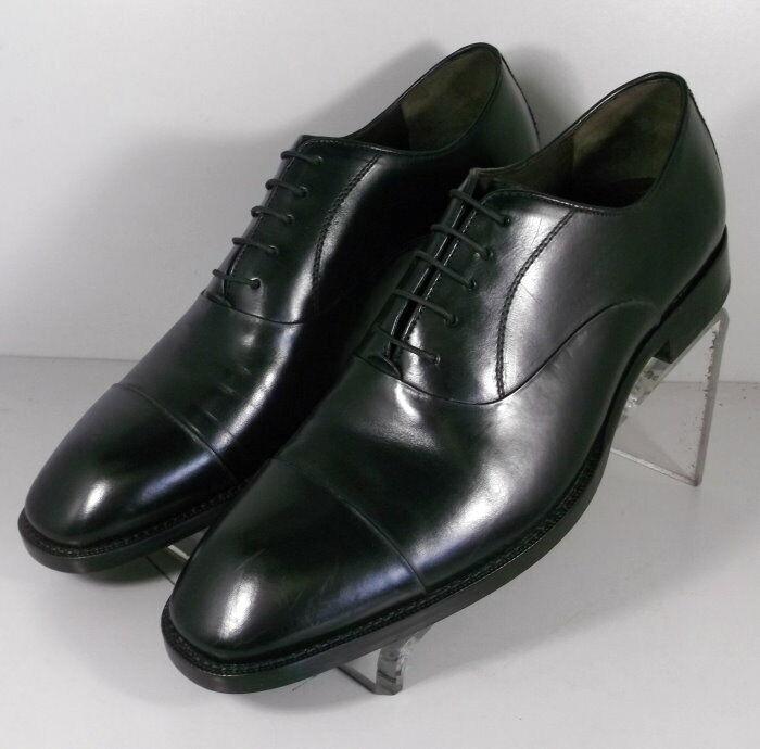 153911 ES50 Chaussures Hommes Taille 10 m Noir en Cuir à Lacets Johnston & Murphy