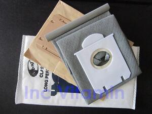 10x-Vacuum-Cleaner-Bags-Dust-Bag-Philips-Electrolux-Hoover-S-bag-Vacuum-filter