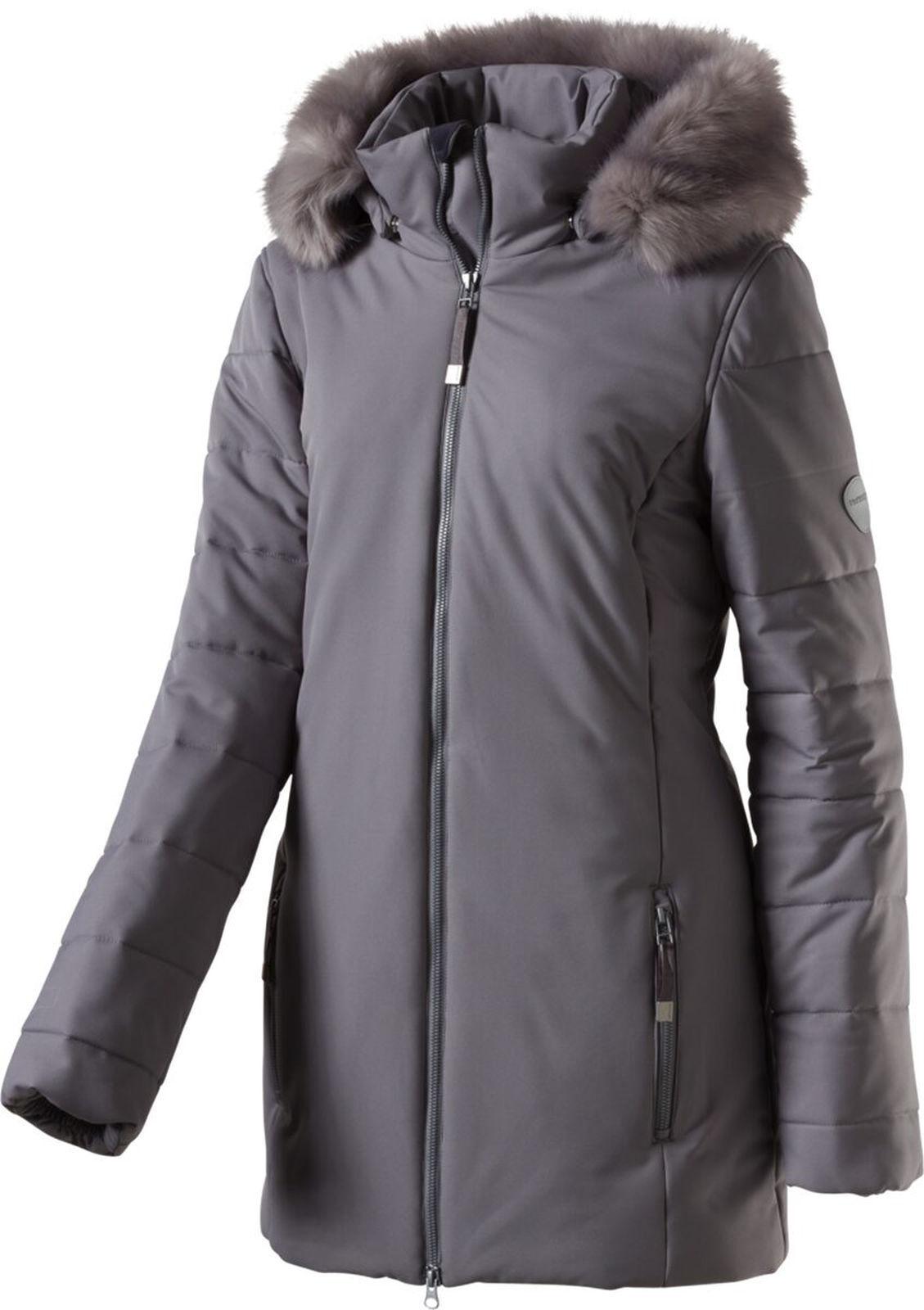 McKinley DaSie Wander Freizeit Funktions - Mantel mit Kapuze Argo grau
