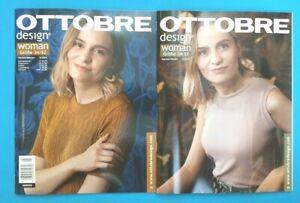 Ottobre design WOMAN AUTUNNO/INVERNO 5/2019 con motivo di sezione inutilizzato 1a abstop