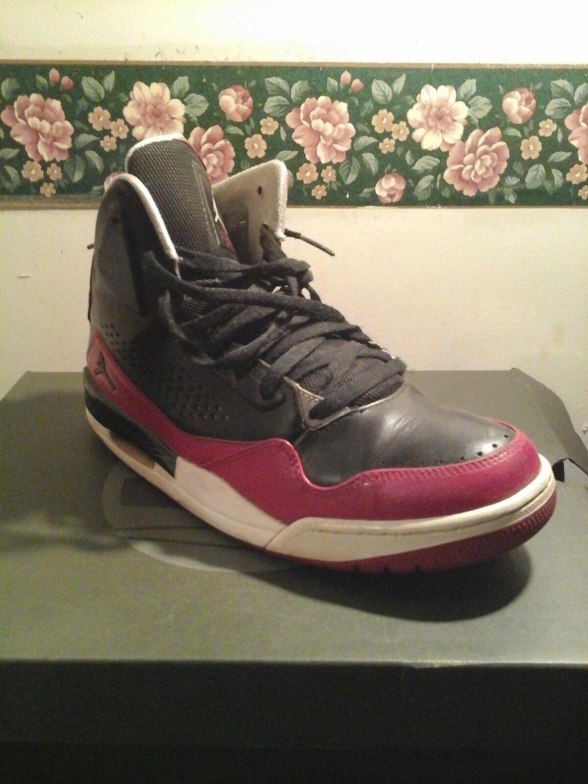 7ec9fcbd8135 Jordan Flight 3 3 3 Retro Shoes Nike size 9.5 red Black   White basketball  aaa07c