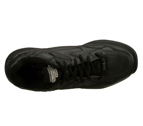 Trabajo Skechers Negro Zapato Ew Espuma Ancho Hombre Viscoelástica 77032 zwZ6qFq